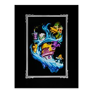 """Alice in Wonderland """"Madness Into Wonder"""" Deluxe Print by Noah"""