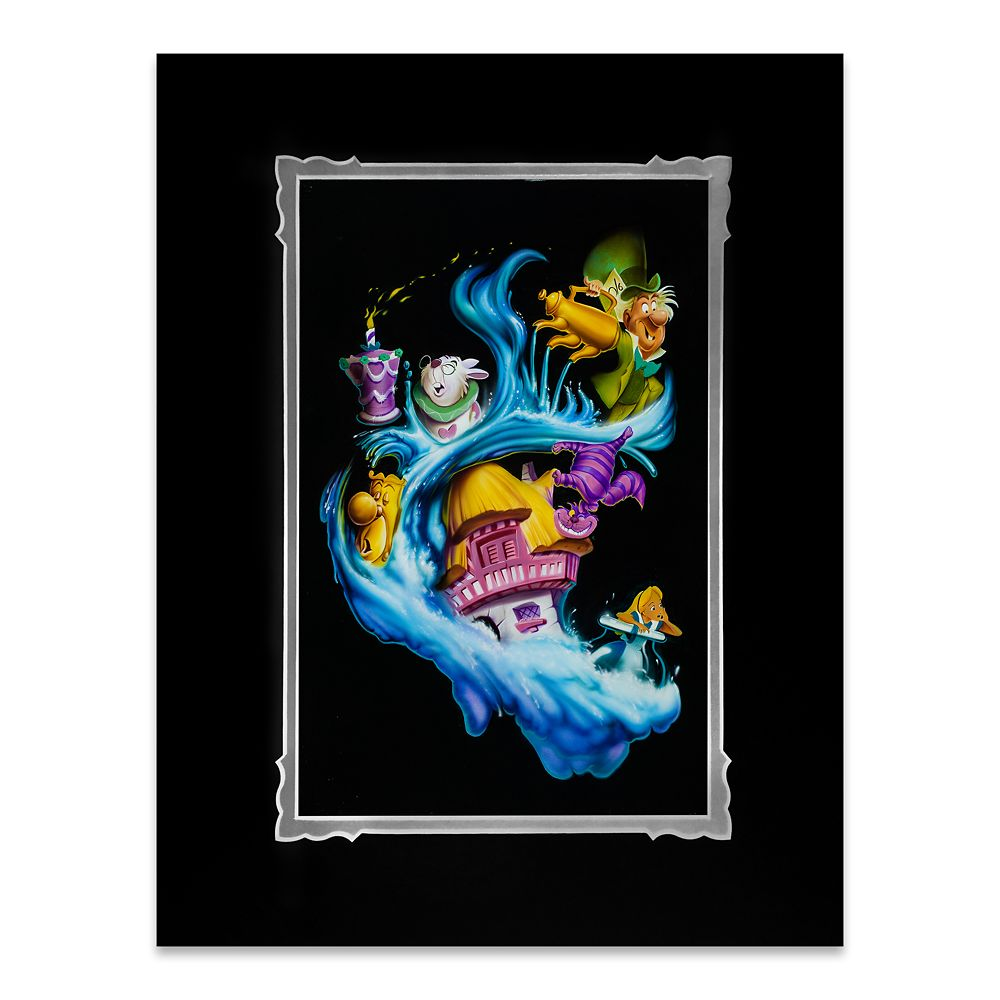 "Alice in Wonderland ""Madness Into Wonder"" Deluxe Print by Noah Official shopDisney"