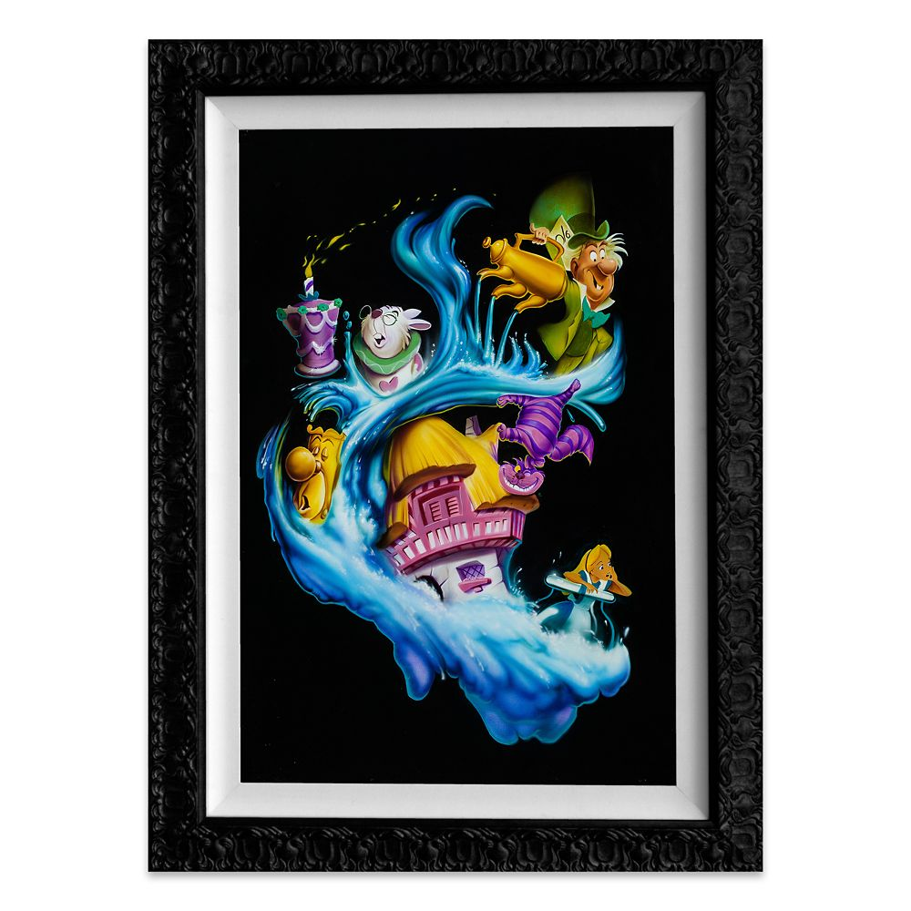 Alice in Wonderland ''Madness Into Wonder'' Giclée by Noah Official shopDisney