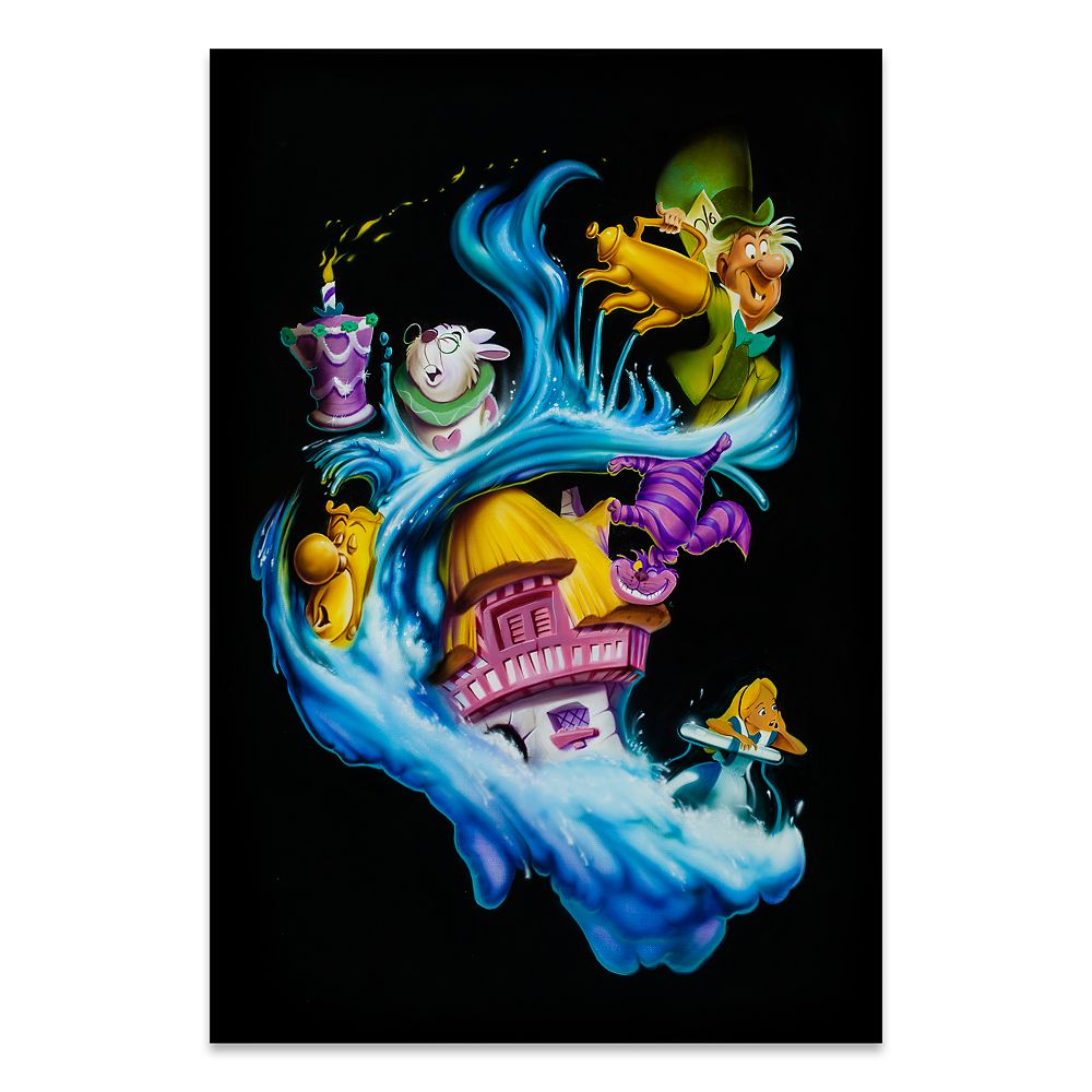Alice in Wonderland ''Madness Into Wonder'' Giclée by Noah