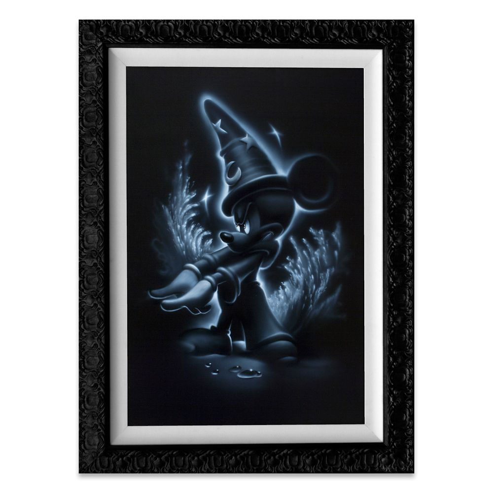 ''Sorcerer Mickey'' Giclée by Noah Official shopDisney