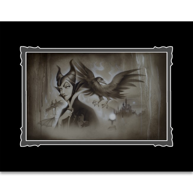 Maleficent ''My Pet You Are My Last Hope'' Deluxe Print by Noah