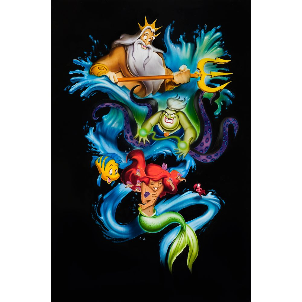 The Little Mermaid ''Ariel's Innocence'' Limited Edition Giclée  by Noah