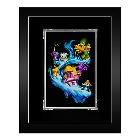 Alice in Wonderland ''Madness Into Wonder'' Framed Deluxe Print by Noah