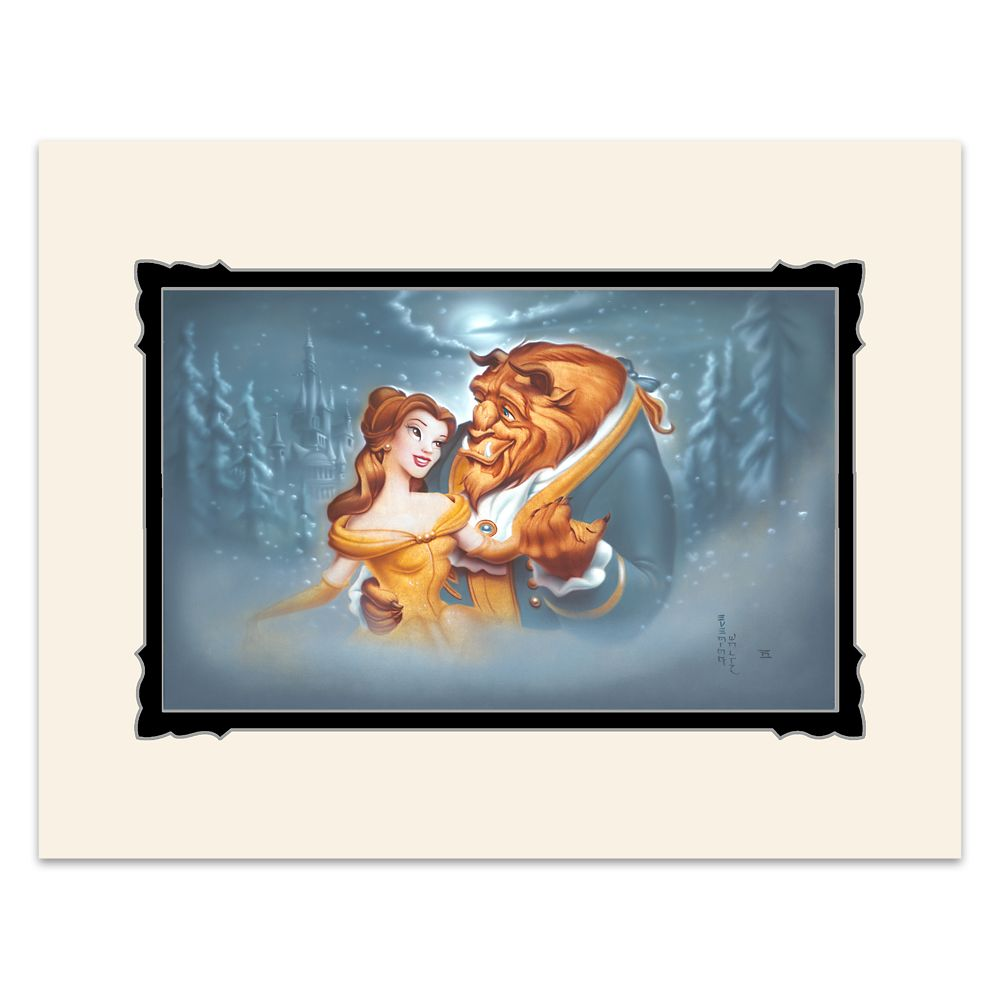 Beauty and the Beast ''Evening Waltz'' Deluxe Print by Noah