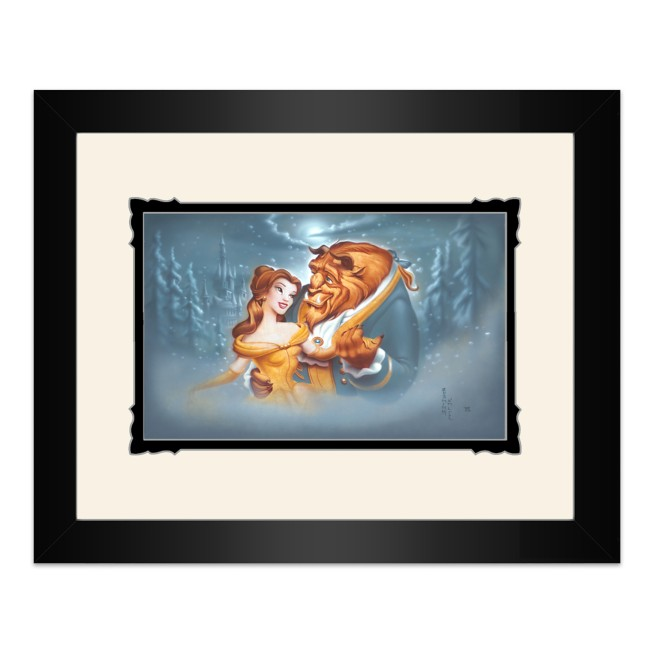 Beauty and the Beast ''Evening Waltz'' Framed Deluxe Print by Noah