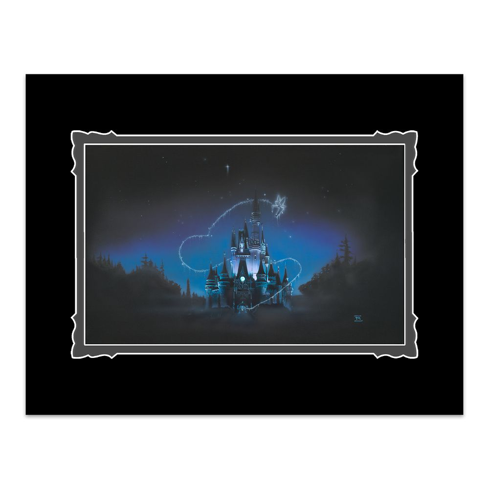 Cinderella Castle ''40 Magical Years'' Deluxe Print by Noah