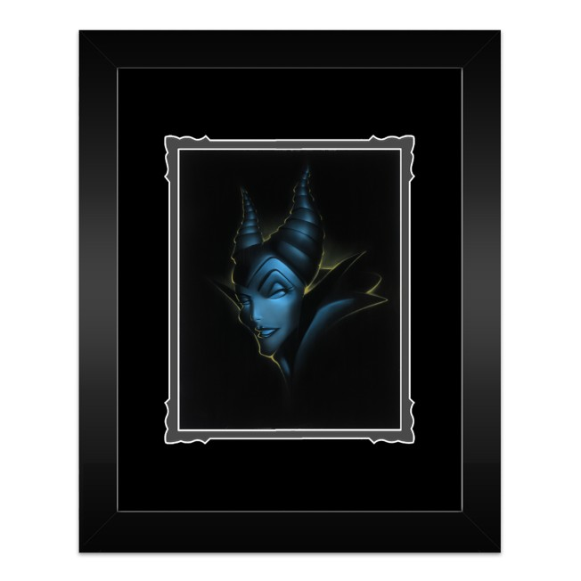 ''Villains Maleficent'' Framed Deluxe Print by Noah