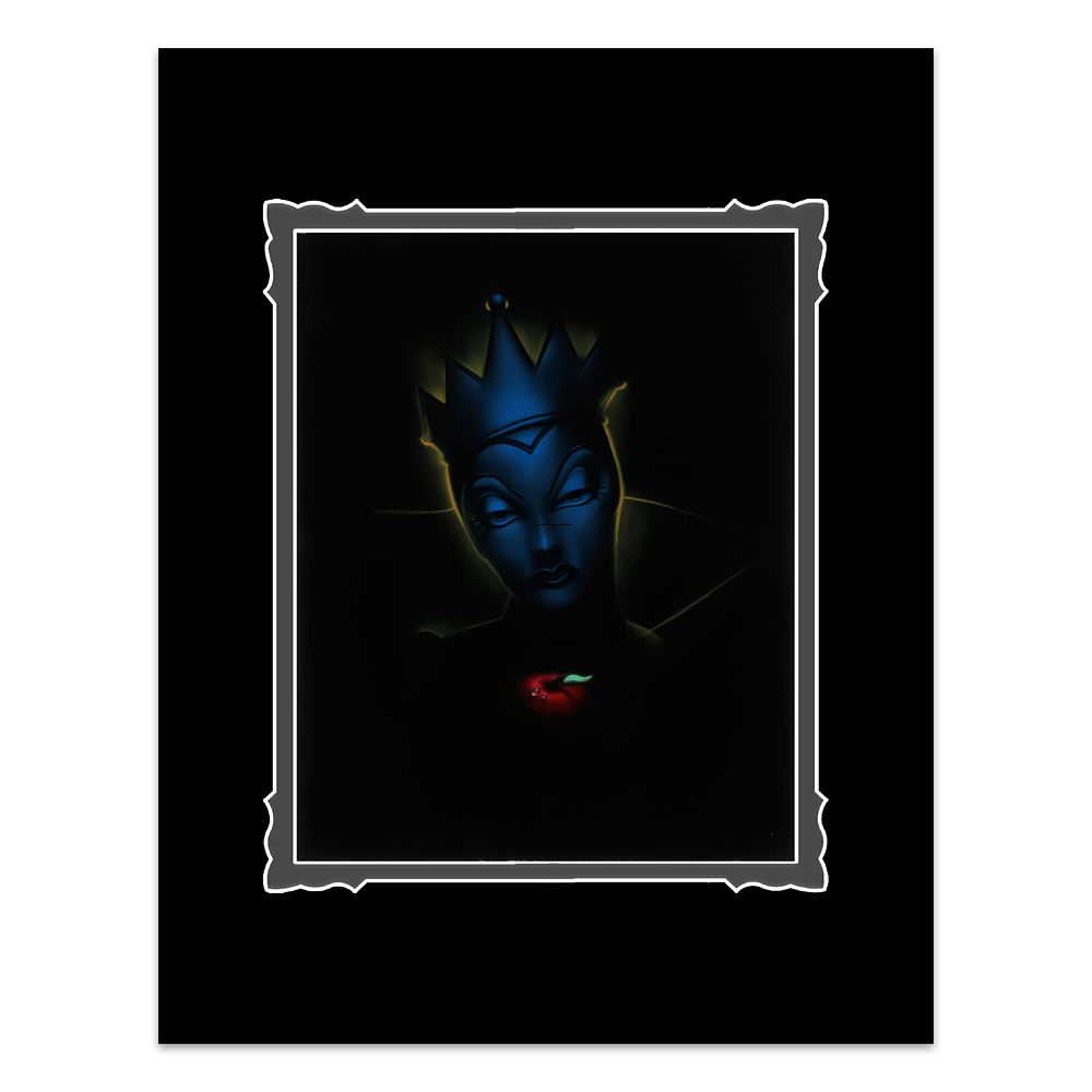 ''Villains Evil Queen'' Deluxe Print by Noah