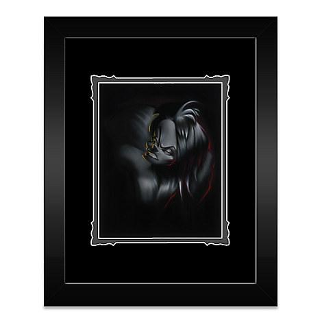 ''Villain Cruella'' Framed Deluxe Print by Noah