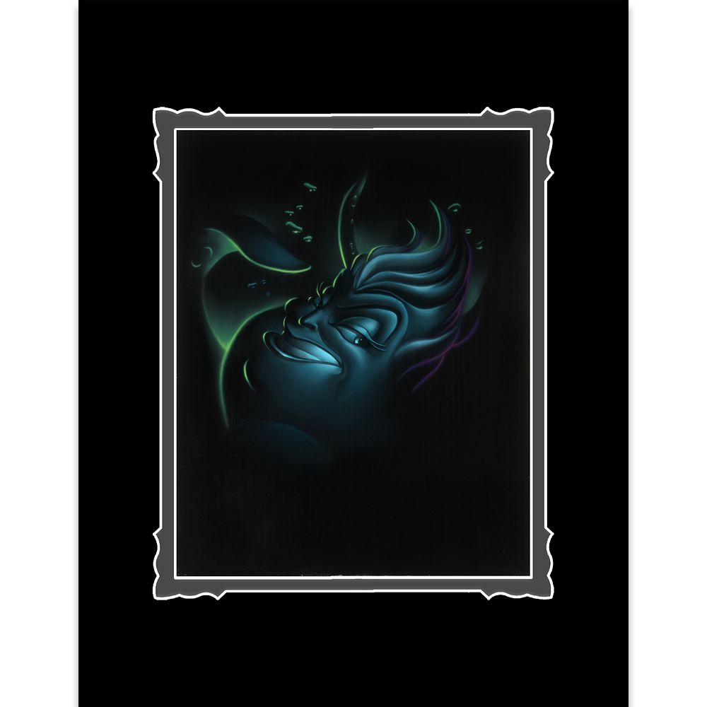 ''Villain Ursula'' Deluxe Print by Noah