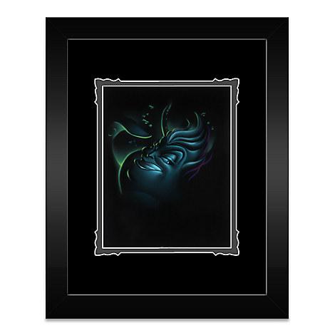 ''Villain Ursula'' Framed Deluxe Print by Noah