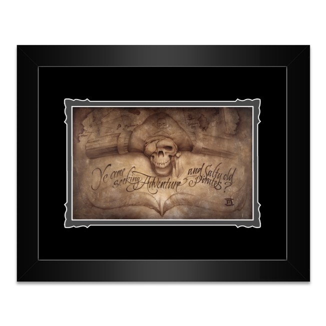 Pirates of the Caribbean ''High Seas Adventure'' Framed Deluxe Print by Noah
