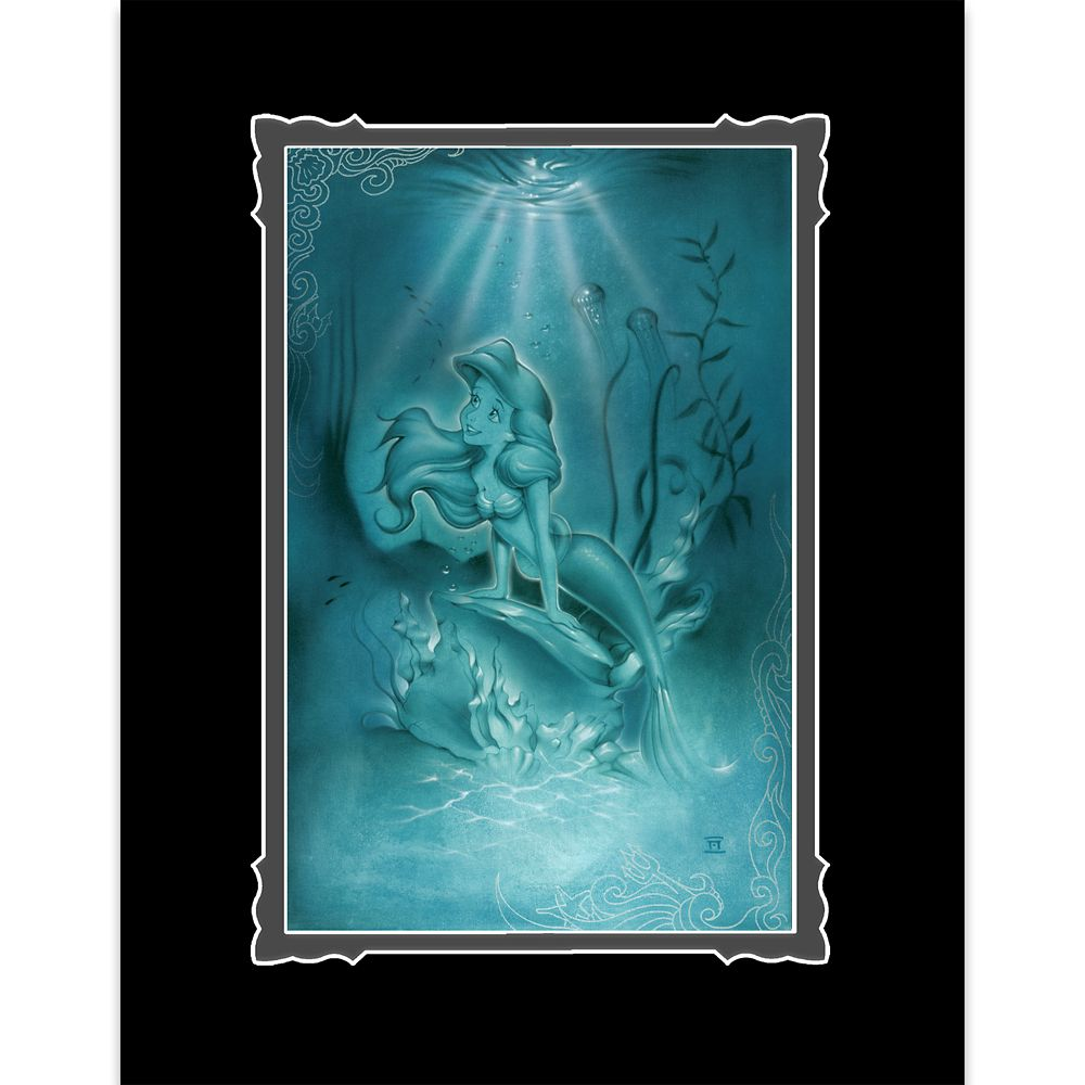 Ariel ''Little Mermaid'' Deluxe Print by Noah Official shopDisney
