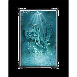 """Ariel """"Little Mermaid"""" Deluxe Print by Noah"""