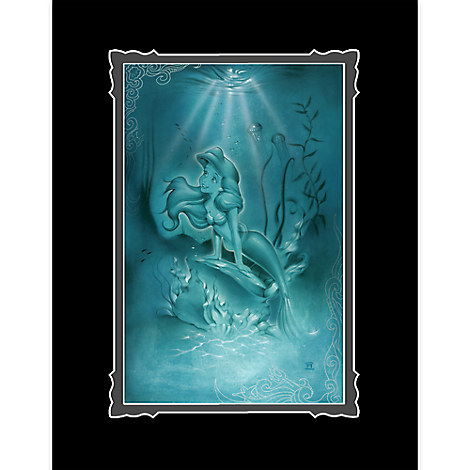 Ariel ''Little Mermaid'' Deluxe Print by Noah
