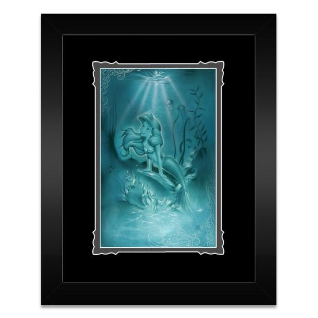 Ariel ''Little Mermaid'' Framed Deluxe Print by Noah