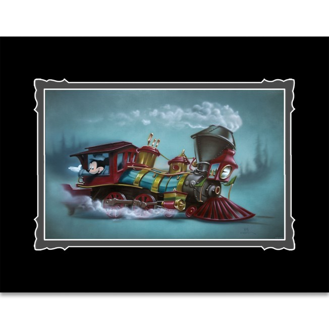 Mickey Mouse ''Lil Engineer'' Deluxe Print by Noah