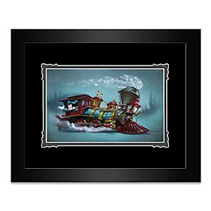 """Mickey Mouse """"Lil Engineer"""" Framed Deluxe Print by Noah"""