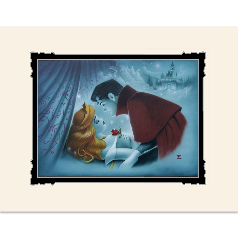 Sleeping Beauty ''Awaking Beauty'' Deluxe Print by Noah