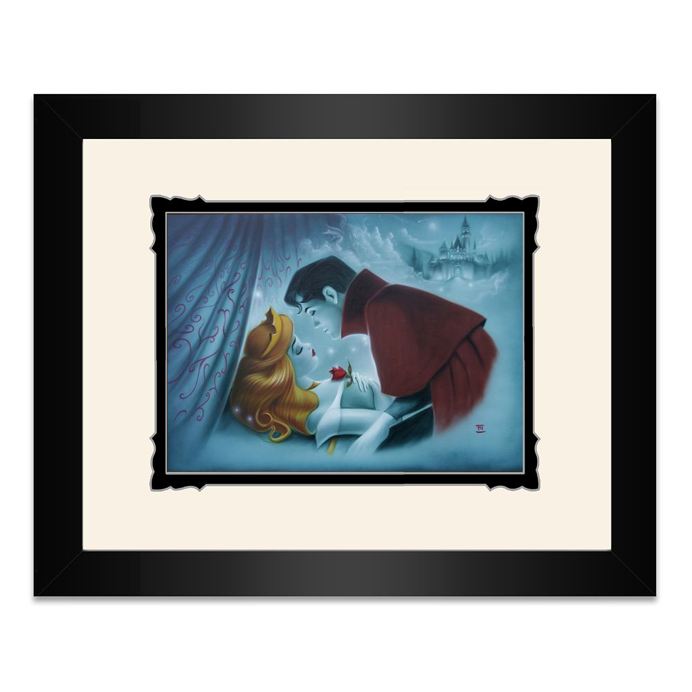 Sleeping Beauty ''Awaking Beauty'' Framed Deluxe Print by Noah
