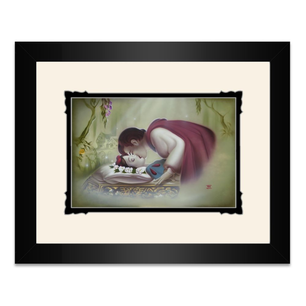 Snow White ''True Love's Kiss'' Framed Deluxe Print by Noah