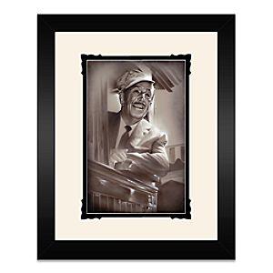 Walt Disney ''Walt in Train'' Framed Deluxe