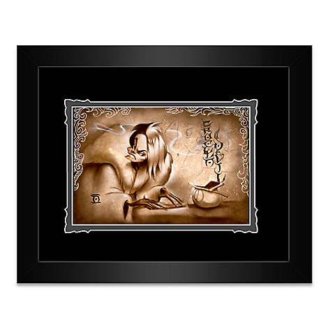 Cruella De Vil ''Name Your Price'' Framed Deluxe Print by Noah