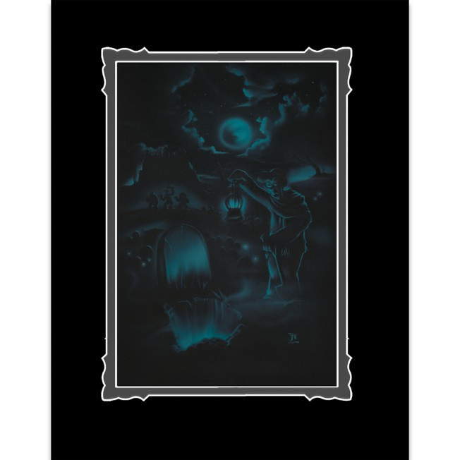 The Haunted Mansion ''Room for One More'' Deluxe Print by Noah