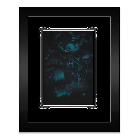 The Haunted Mansion ''Room for One More'' Framed Deluxe Print by Noah