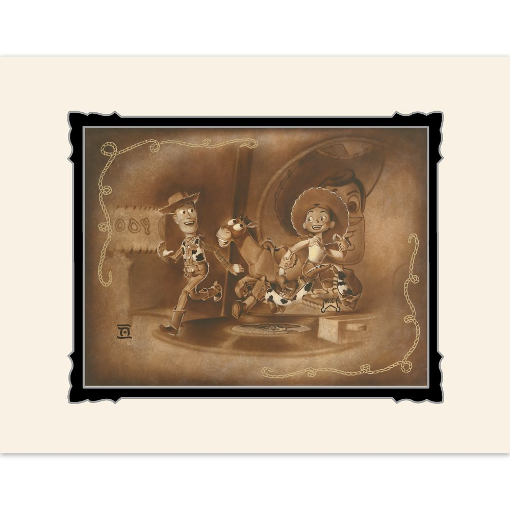 Toy Story ''Round Up Gang'' Deluxe Print by Noah Official shopDisney