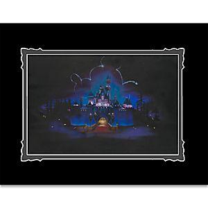 """Disneyland """"While Everyone Sleeps"""" Deluxe Print by Noah"""