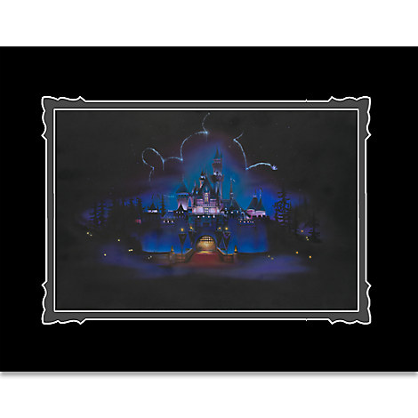 Disneyland ''While Everyone Sleeps'' Deluxe Print by Noah