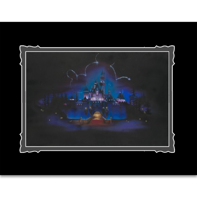 Disneyland ''While Everyone Sleeps'' Deluxe Print by Noah