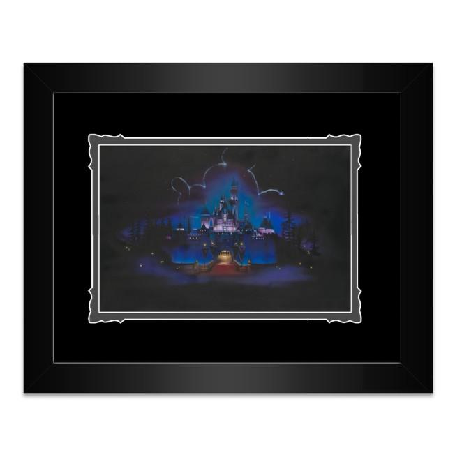 Disneyland ''While Everyone Sleeps'' Framed Deluxe Print by Noah