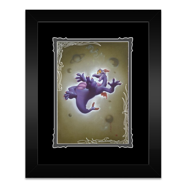 ''Figment'' Framed Deluxe Print by Noah