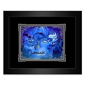 "Ursula ""Poor Unfortunate Souls"" Framed Deluxe Print by Noah"