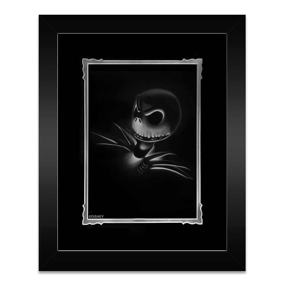 Jack Skellington ''Jack'' Framed Deluxe Print by Noah