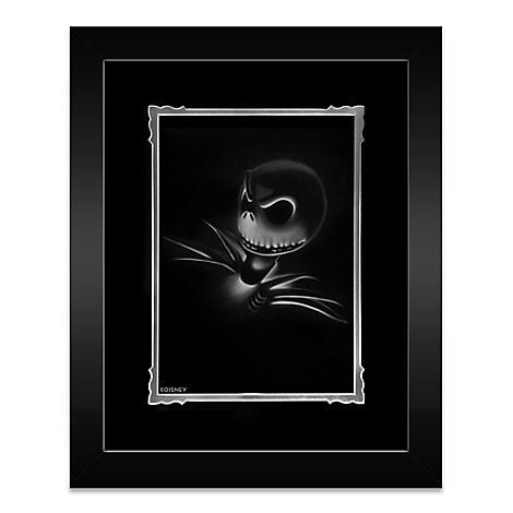 Jack Skellington ''Jack'' Framed Deluxe Print by Noah