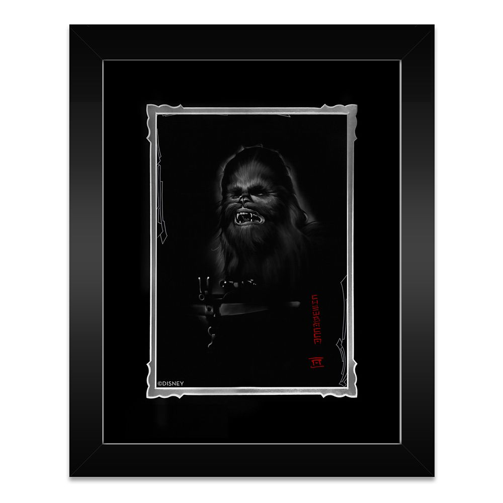 ''Chewbacca'' Framed Deluxe Print by Noah Official shopDisney