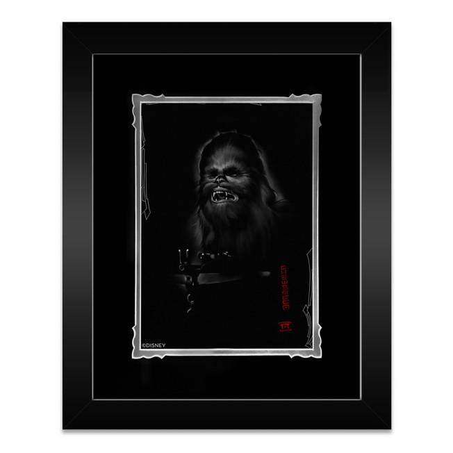 ''Chewbacca'' Framed Deluxe Print by Noah