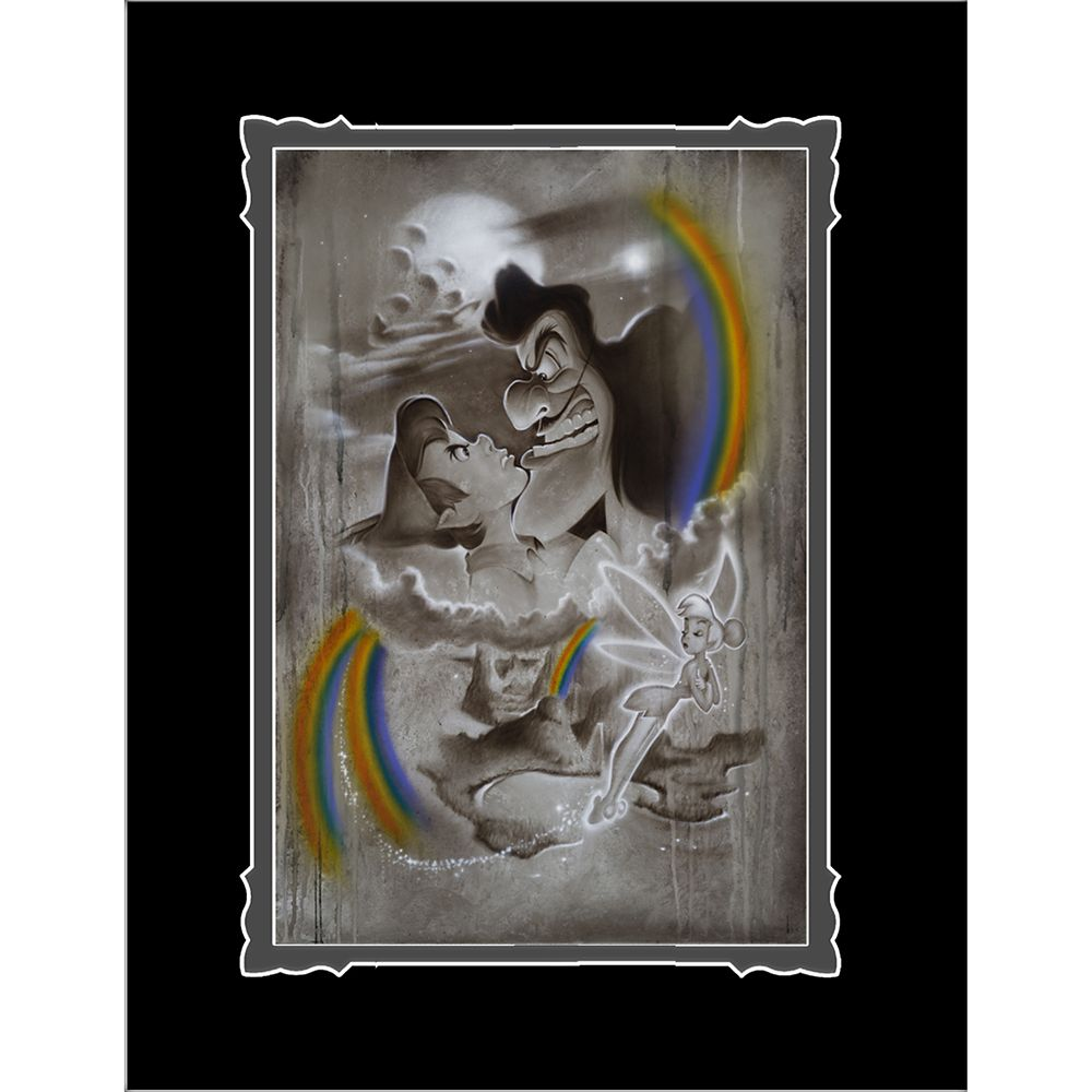 Peter Pan ''Fighting for Never Land'' Deluxe Print by Noah Official shopDisney
