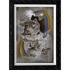 """Peter Pan """"Fighting for Never Land"""" Giclée by Noah"""