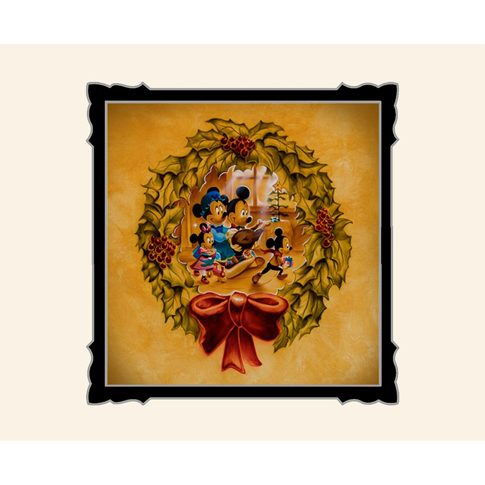 Mickey and Minnie Mouse ''It's Better to Give Than to Receive'' Deluxe Print by Noah Official shopDisney