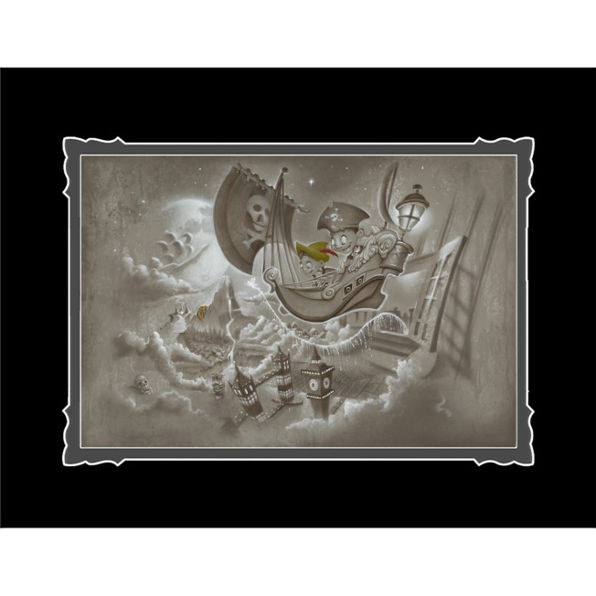 Peter Pan ''Journey to Never Land'' Deluxe Print by Noah
