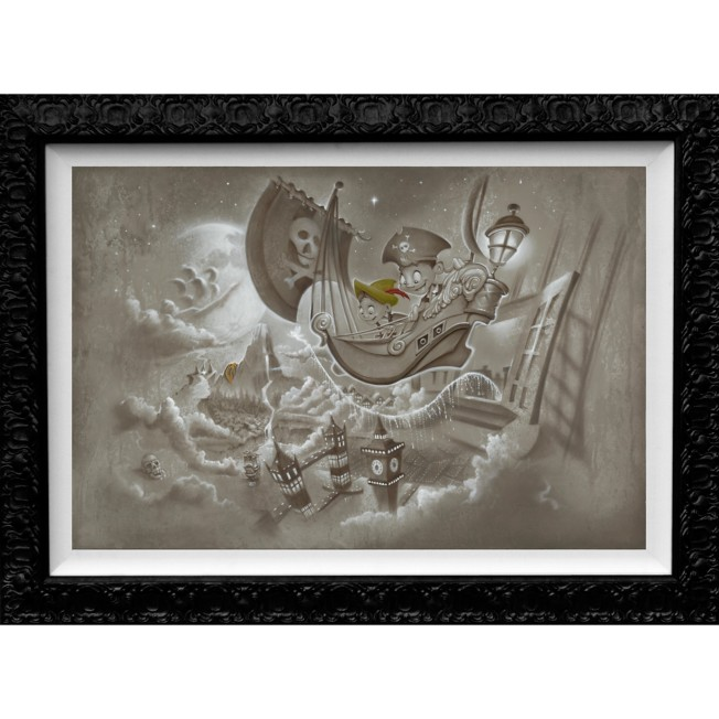 Peter Pan ''Journey to Never Land'' Limited Edition Giclée by Noah