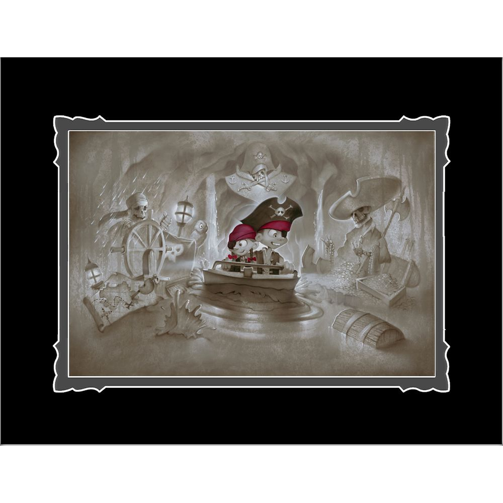 Pirates of the Caribbean ''Thar' Be Pirates in These Parts'' Deluxe Print by Noah Official shopDisney