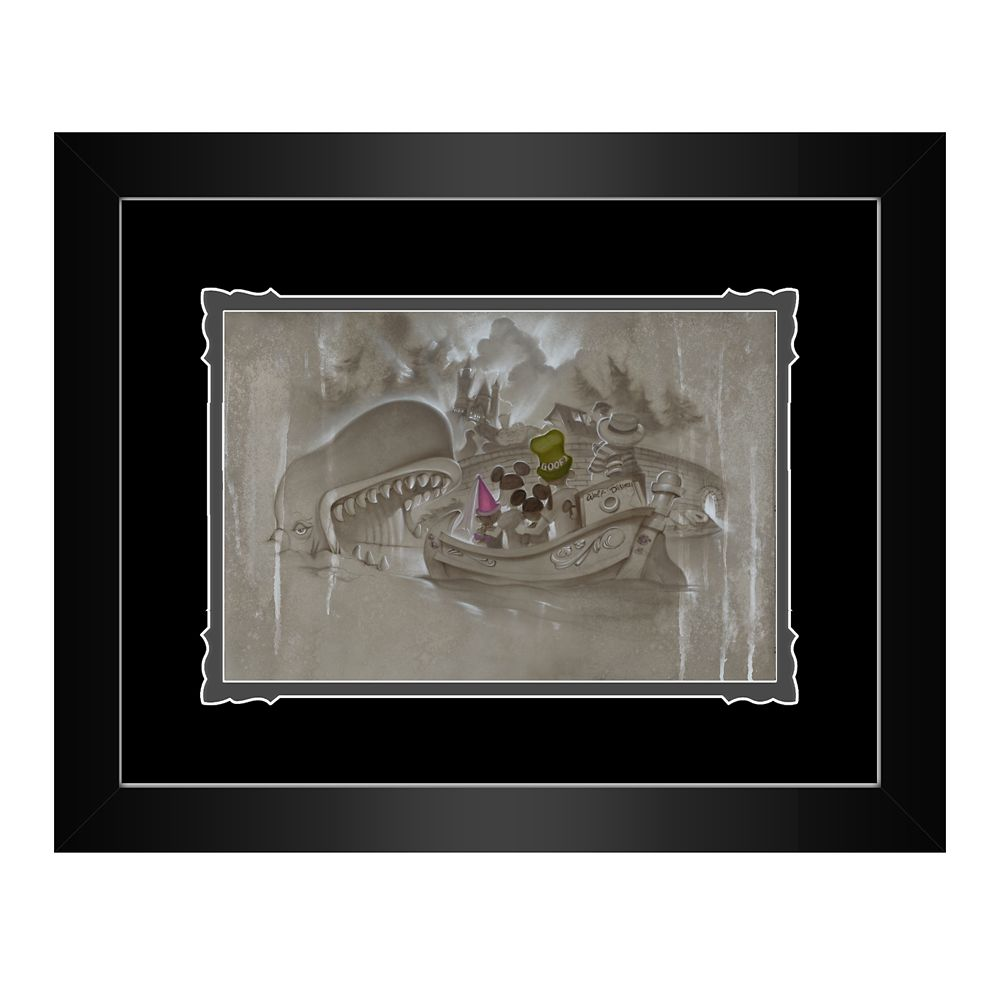 ''Adding a Page to Our Story'' Framed Deluxe Print by Noah Official shopDisney