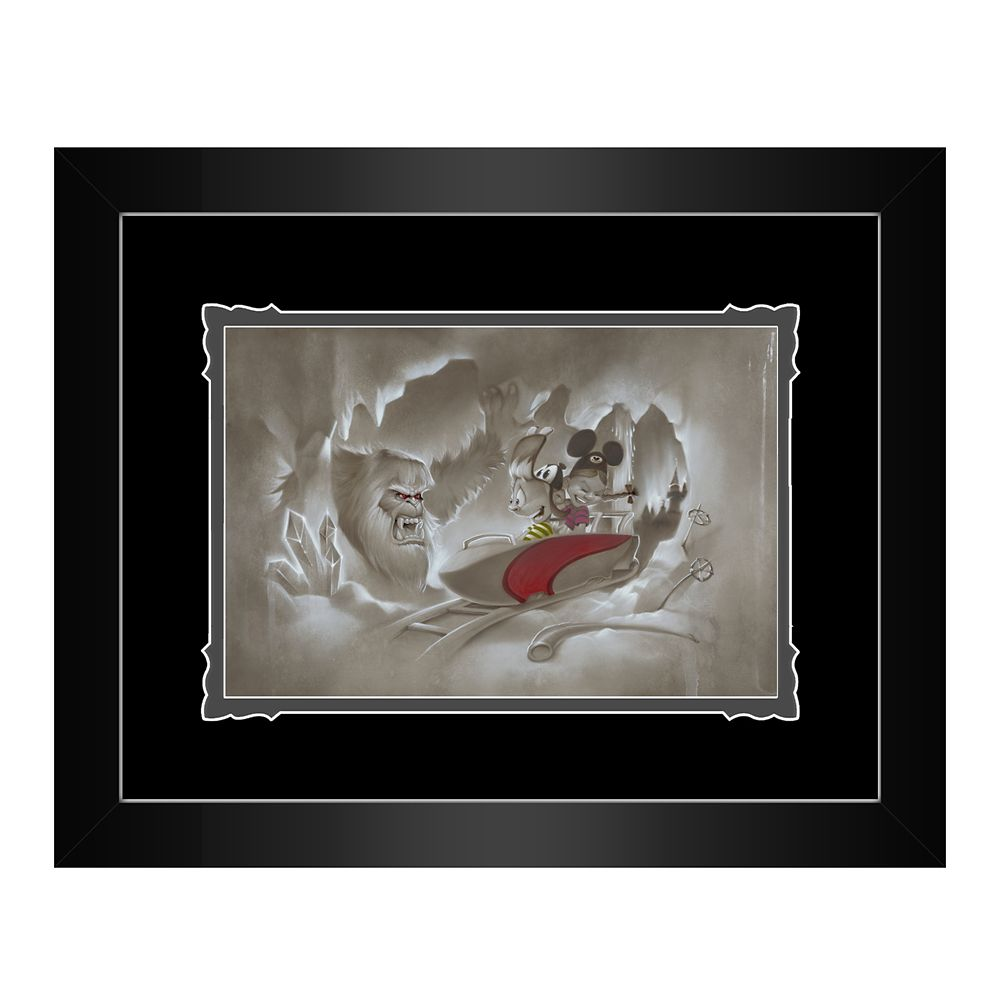 ''Yeti-Or-Not'' Framed Deluxe Print by Noah Official shopDisney