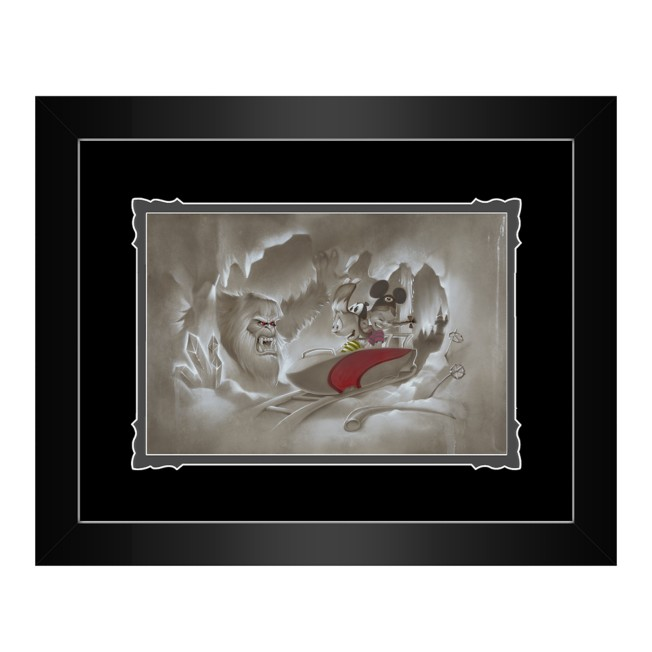 ''Yeti-Or-Not'' Framed Deluxe Print by Noah